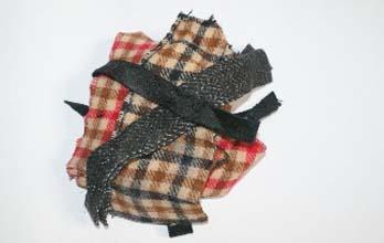 Chute de découpes laine